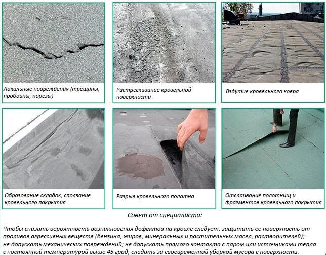 ремонт мягкой крыши